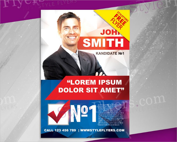 23 political flyer templates free premium download