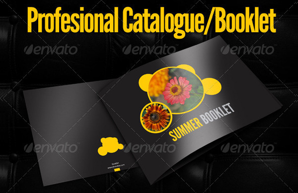Summer Booklet Template