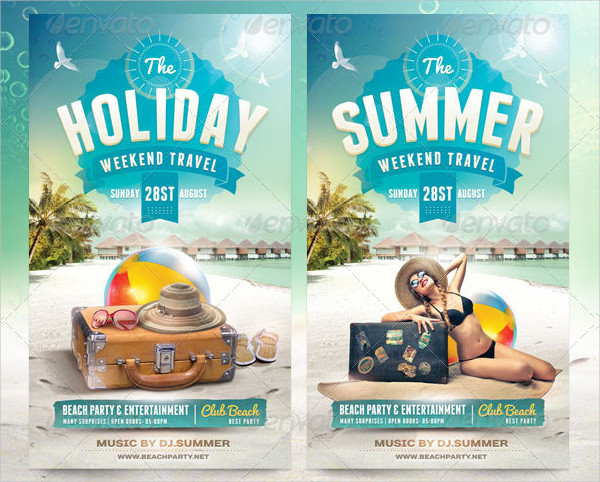 31 Cool Travel Flyer Templates Free Premium Download