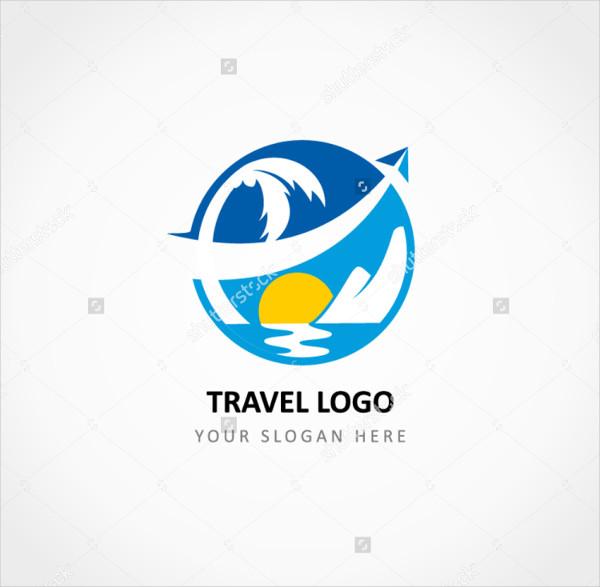 Travel Aircraft Crossed Logo