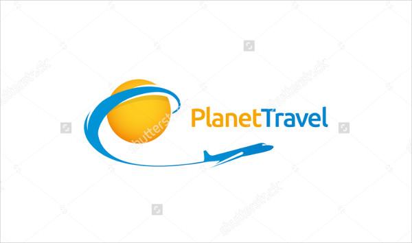 Planet Travel Logo Template