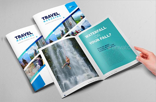 Traveling Magazine & Catalog Template