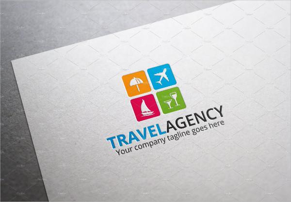 Clean Travel Agency Logo