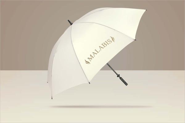 Umbrella Logo Mock-Up