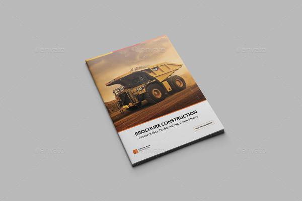 Unique Construction Company Brochure