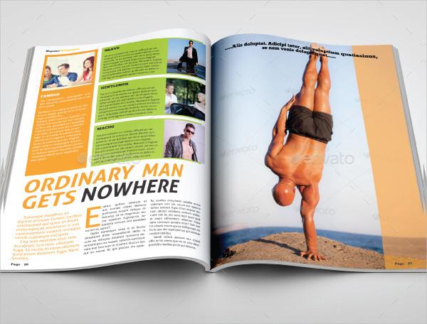 Unique Travel Magazine Templates Bundle
