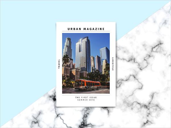 Amazing Traveling & Lifestyle Magazine Template