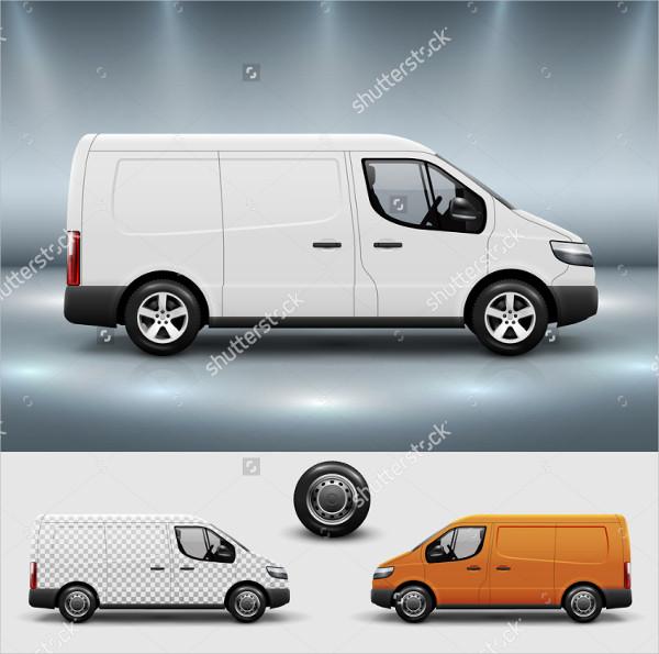 Van Advertising Mock-Up