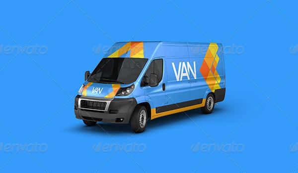 Van Branding Mockup