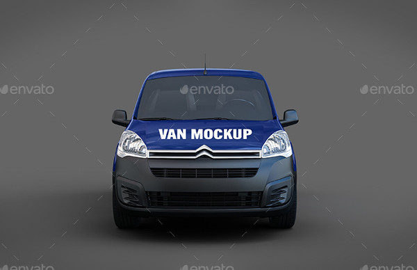 Van Delivery Mock-Up