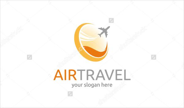 Air Travel Vector Logo