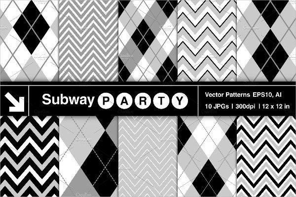 Vector Argyle & Chevron Patterns