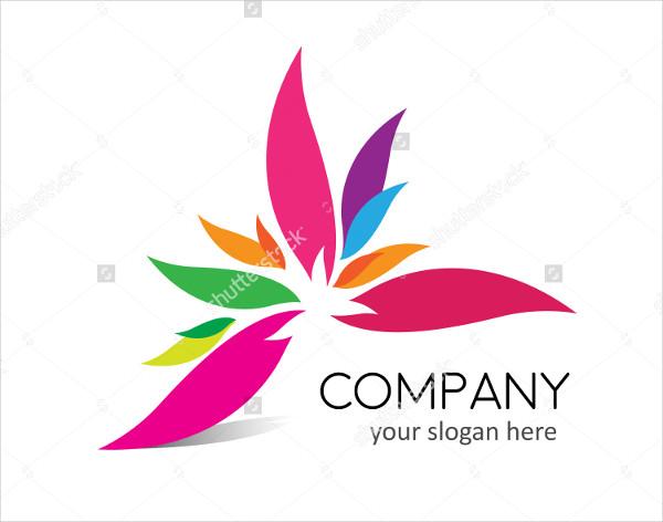 Vector Flower Spa Logo Template