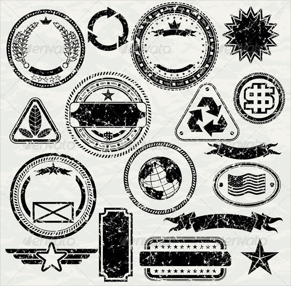 Vector Stamp Collection