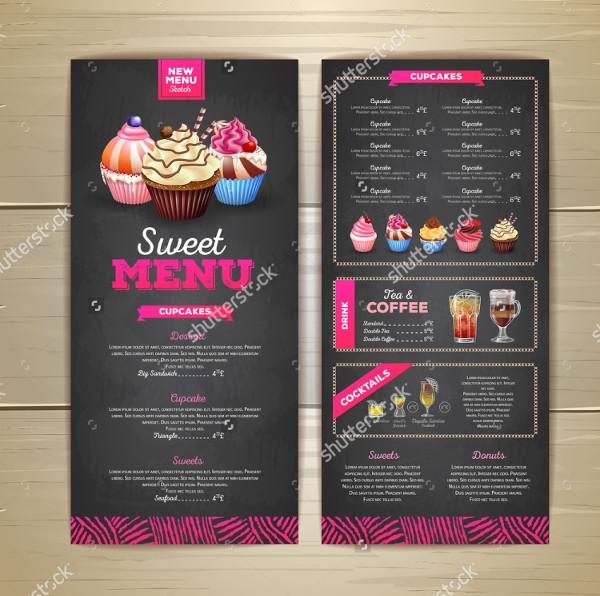 17 sweets menu templates free premium download