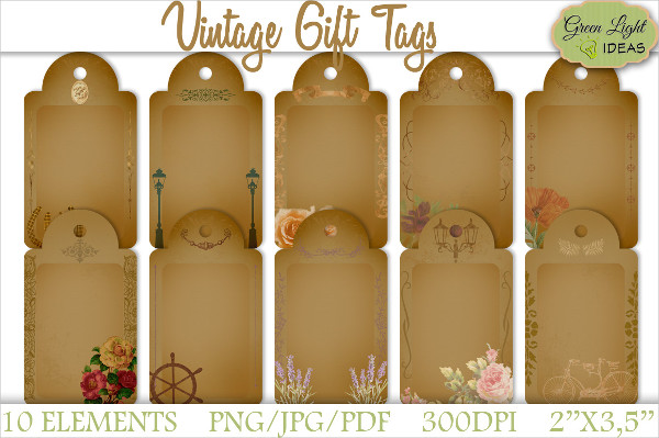 Vintage Gift Tags