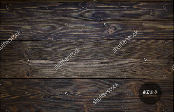 Vintage Wood Texture Illustration