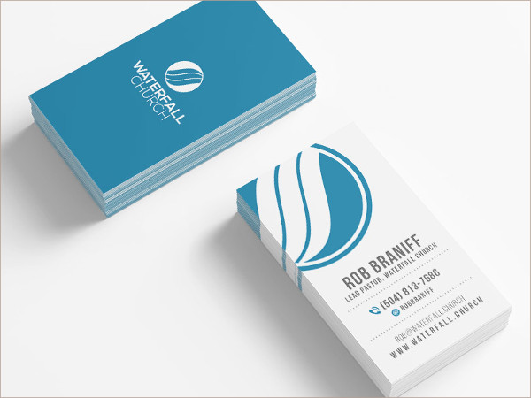 Waterfall Church Business Cards