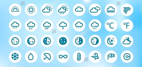 Weather Widget Icons