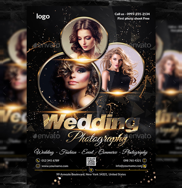 Wedding Photography Event Flyer