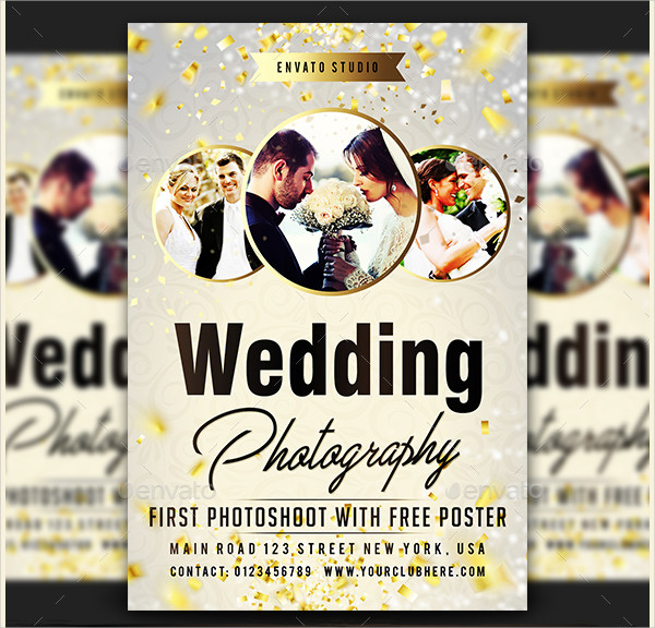 Wedding Photography Marketing Flyer