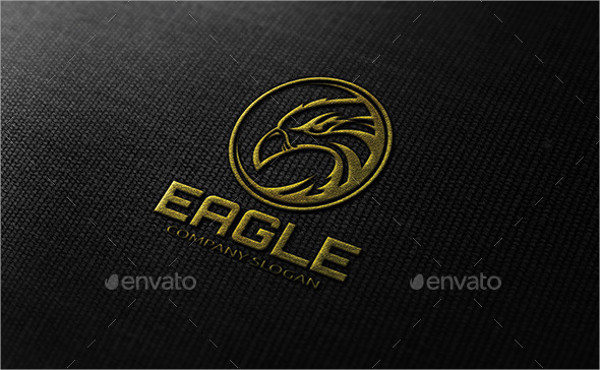 Editable Eagle Logo Template