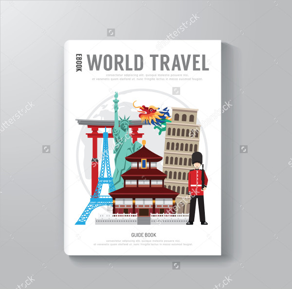 World Travel Business Magazine Template