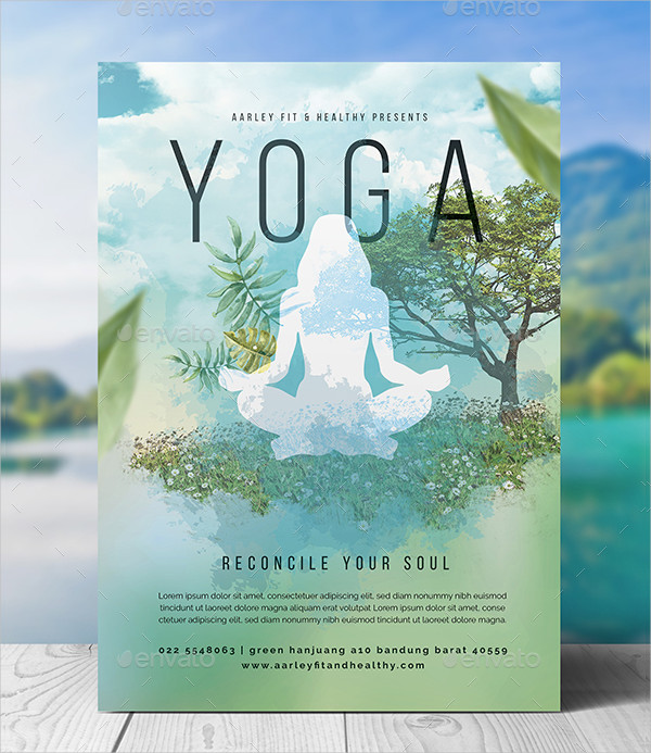 29 Latest Yoga Flyer Templates Free Premium Download