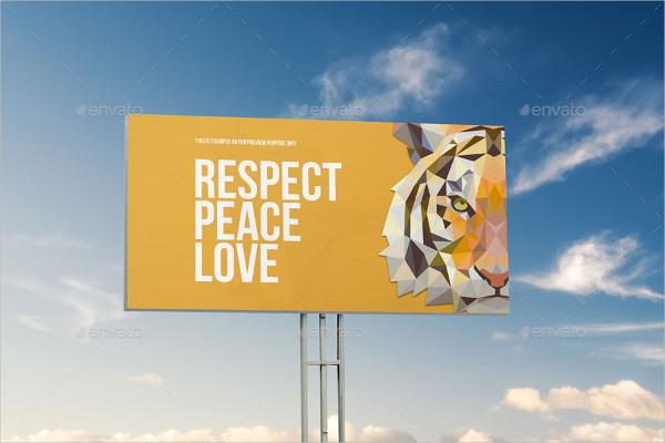 5 PSD Outdoor Advertising Billboard Mockups