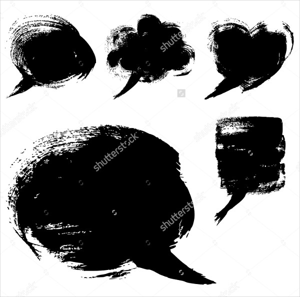 Abstract Bubble Shapes Brushes