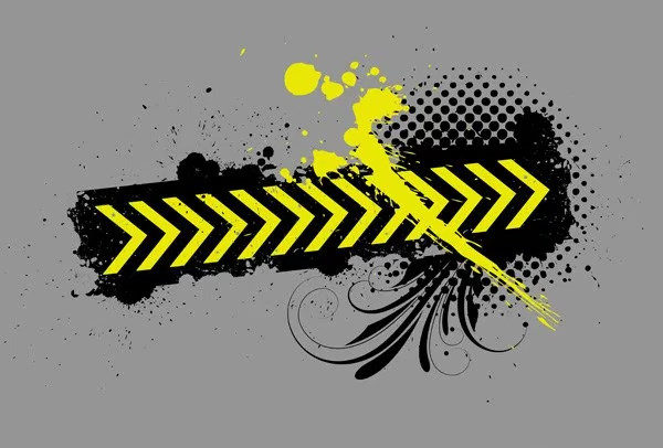 Abstract Construction Banner Free
