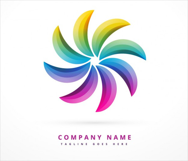 Free Rainbow Logo Design