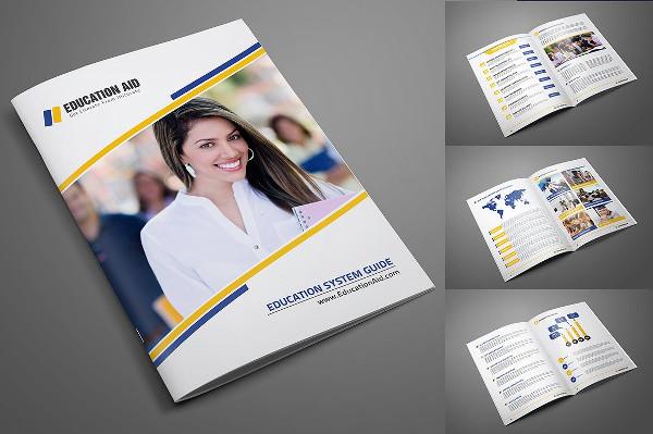 Adobe InDesign Educational Brochure