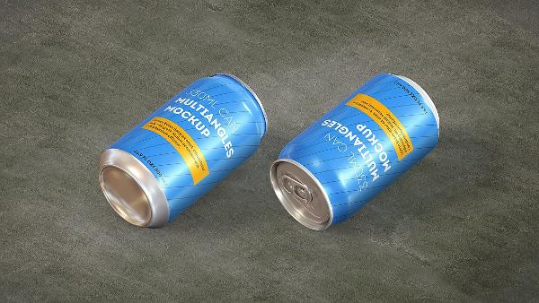 Aluminium Can Mock-Up