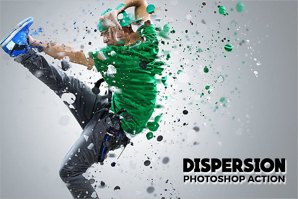 Amazing Shatter Photoshop Actions