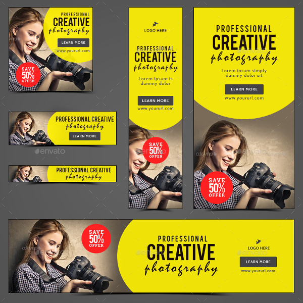 Professional Photography Banners
