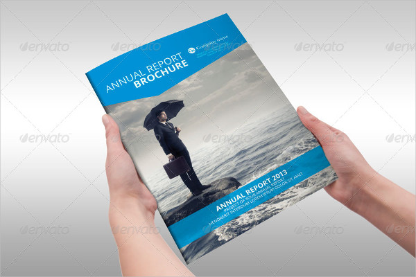 Annual Report Professional Brochure Template