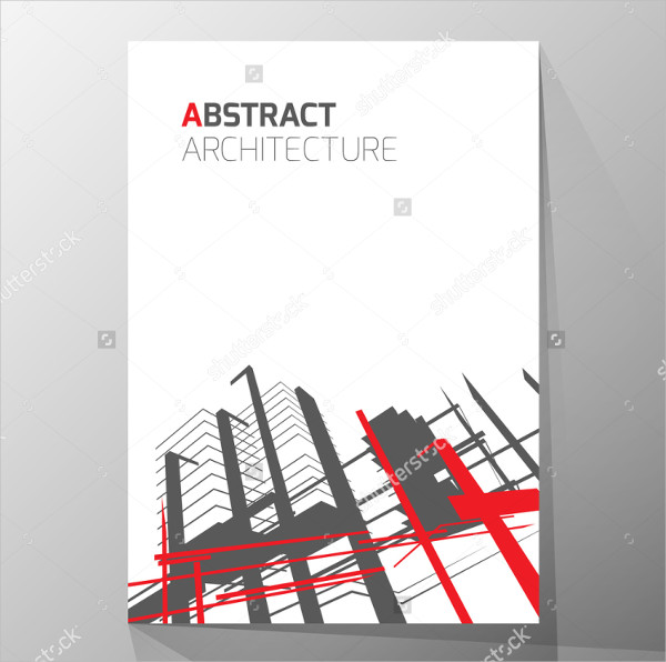 Abstract Architecture Layout Brochure Template