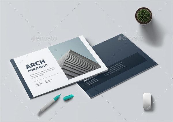 Architecture Portfolio Brochure Template