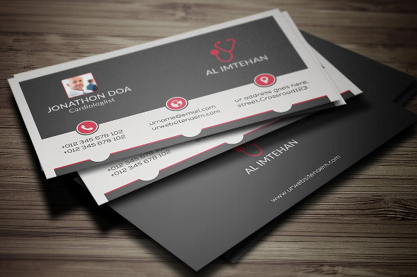 Awesome Doctor Business Card Template