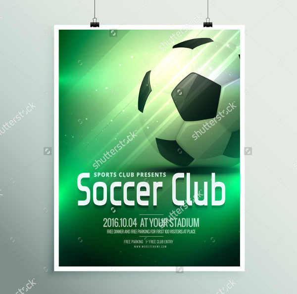 Awesome Soccer Club Poster
