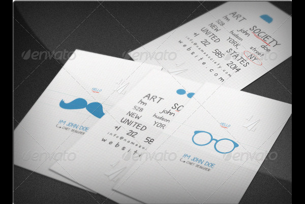 Back To School Business Cards