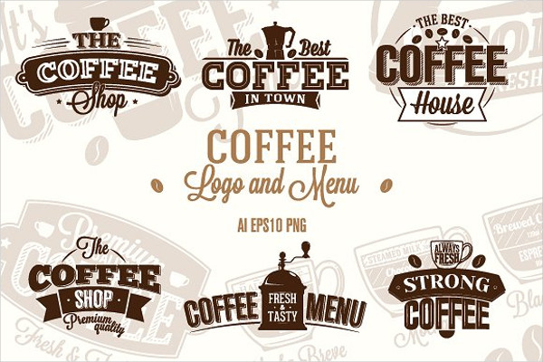 Coffee Logo and Menu Template