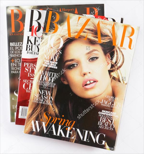 Lifestyle Beautiful Magazine Template