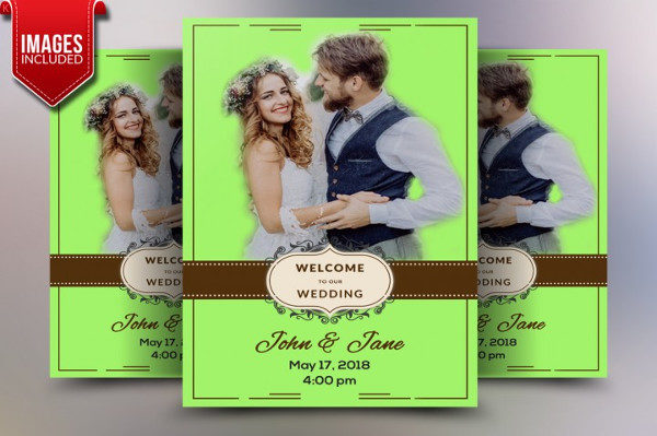 Beautiful Wedding Banner Templates