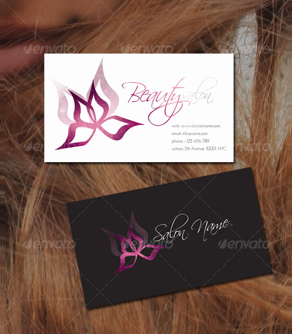 Beauty Flower Business Card