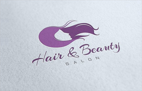 Hair & Beauty Salon Logo Template