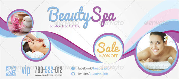 Beauty Spa & Wellness - Rack Card Template