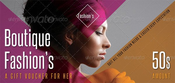 Beauty & Spa Gift Voucher Templates