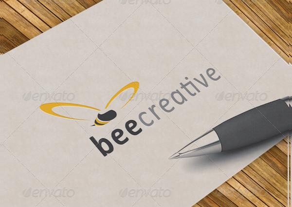 Bee Restaurant Logo Template
